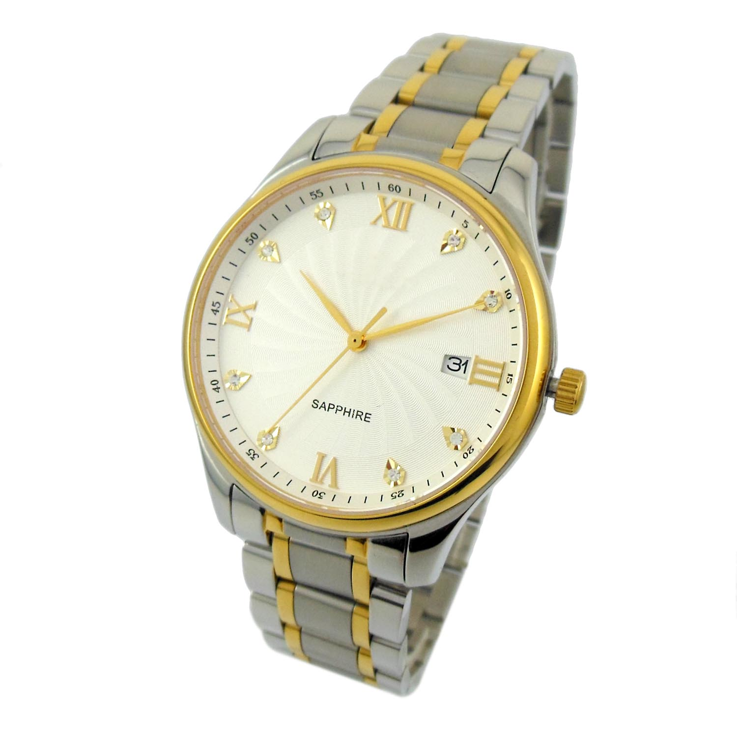 Stainless Steel Swiss Movt Men Watch