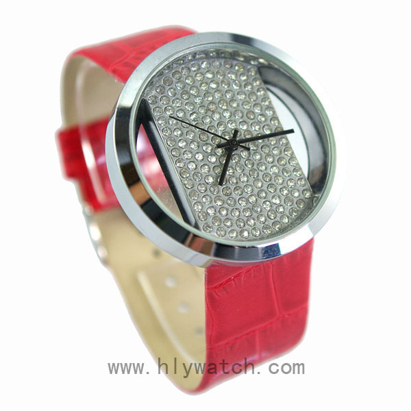 Big Watch Dial Gift Lady Watch