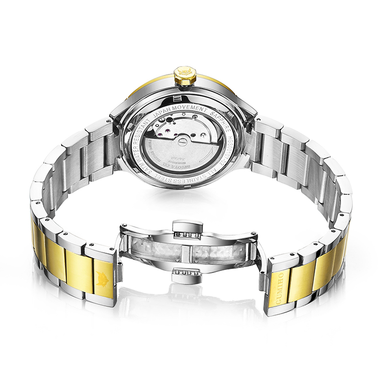 Fashion Lady Mechanical Watch With Adjustable Bracelet