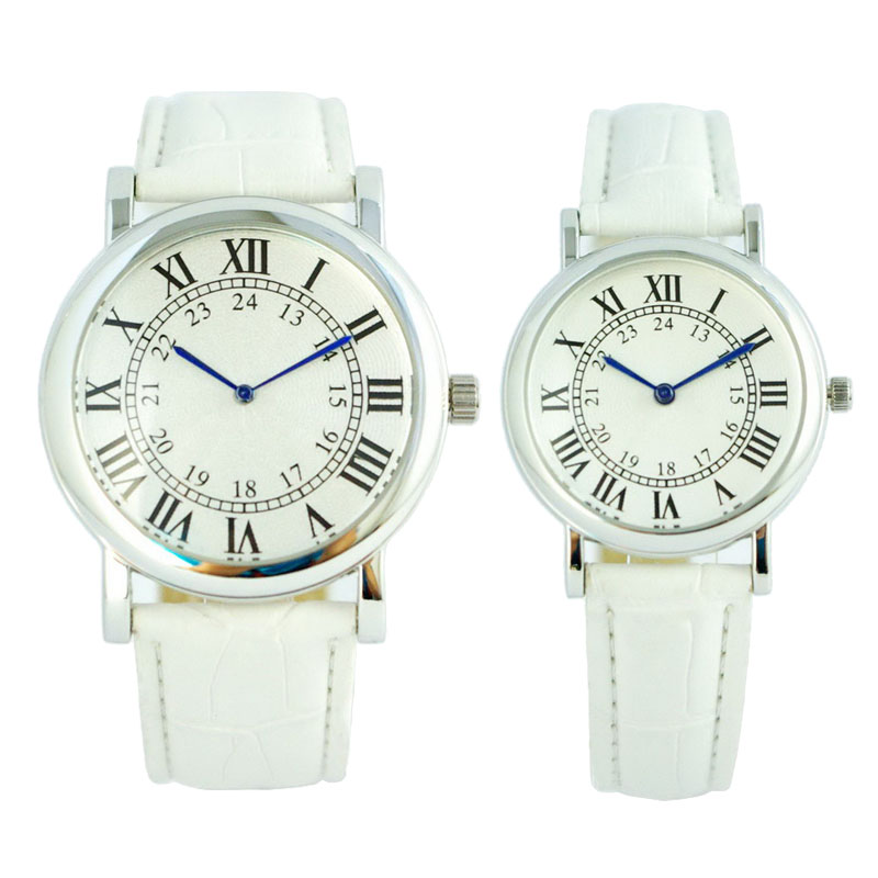 Genuine Gift Leather Couple Watch