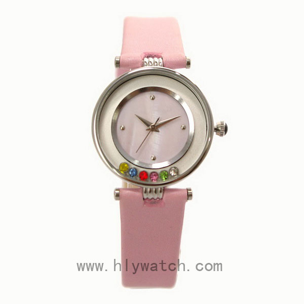 Leather Strap Promotional Lady Watch
