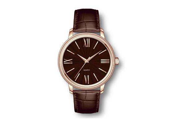 Custom watch of battery
