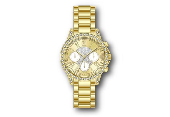 An Assortment Of Gold Watches
