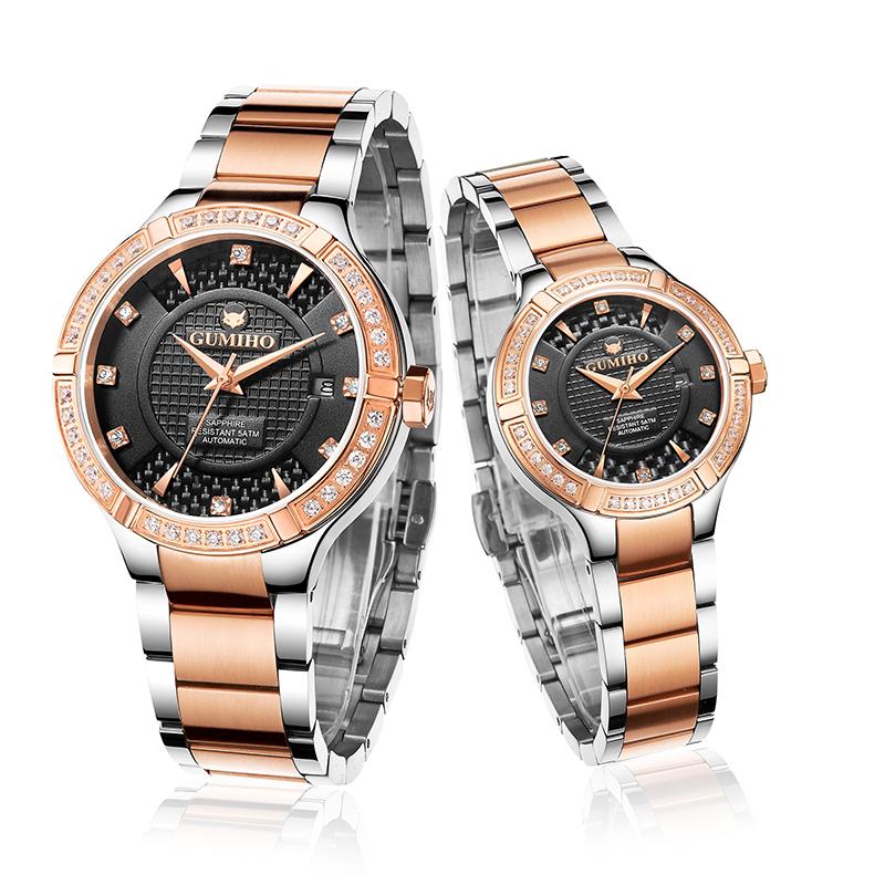 Swiss Movt Mechanical Couple Watch