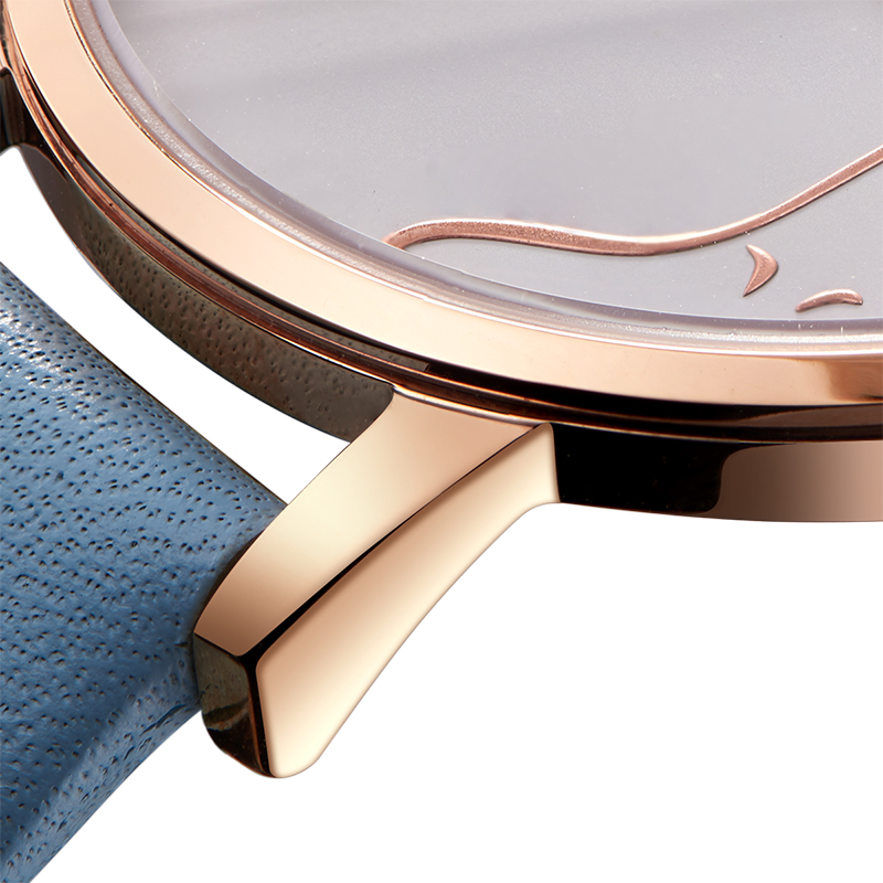 Latest Rose Gold Color Lady watch