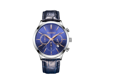 Multifunction Men Watch with Leather Strap-The Symbol of Manhood