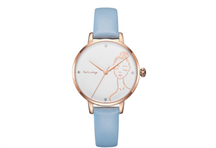 Rose Gold Lady Watch--Art and Technology